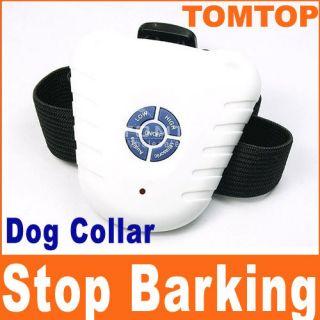New Ultrasonic Bark Stop Control Barking Dog Collar H89