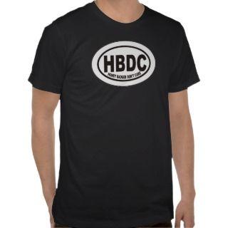 Honey Badger Dont Care Irish Ale Label T shirt