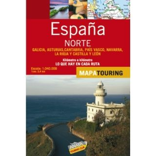 Norte/ Northern Spain Mapa de carreteras 1340.000/ Road Map 1340