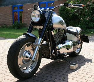 Suzuki VL1500 Intruder Custombike Umbau Thunderbike Chopper Harley
