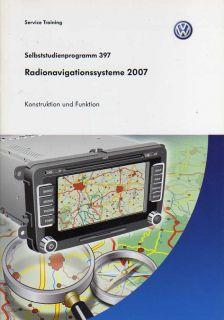 SSP 397 VW Radio Navigations Systeme Handbuch RNS 510
