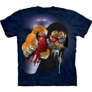Graffiti Saber Tiger   Graffiti Tiger   Erwachsenen T Shirt von The