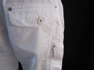 Mogul Sunny Short Damen kurze Hose weiß Bermuda Gr.W28