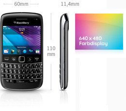BlackBerry Bold 9790 Smartphone 8GB (6,4 cm (2,5 Zoll) Touchscreen, 5