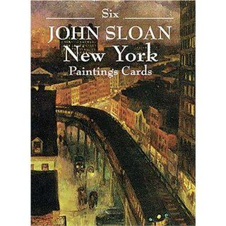 Six John Sloan New York Paintings (Small Format Card Books)