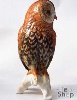 Waldkauz  Owl / KARL ENS Porzellan  Thuringia Porcelain figure 399