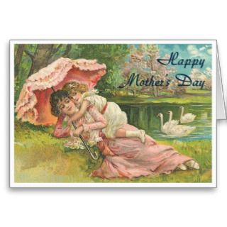 Victorian Mothers Day Greetings Cards
