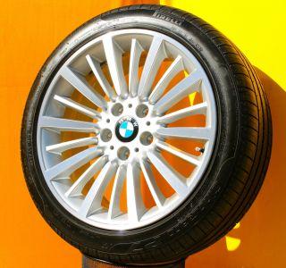 Original BMW 3er F30 Styling 416 Vielspeiche 18 Zoll Alufelgen Pirelli