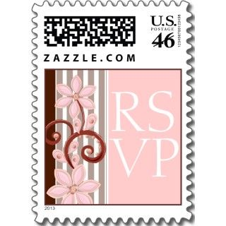 New York City Skyline Event Invitation RSVP Stamps Stamps
