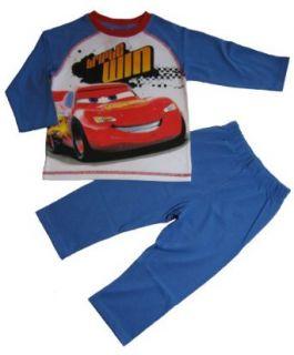 Disney Pixar cars Schlafanzug lang Pyjama blau Bekleidung