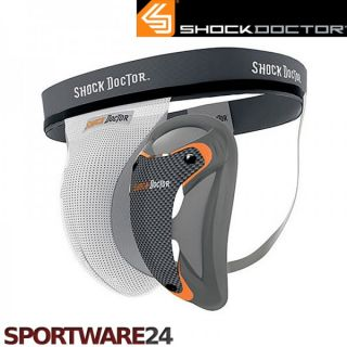 Shock Doctor Ultra Supporter mit Ultra Carbon Flex Cup Tiefschutz MMA