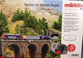 29483 Digital Startpackung Schweiz E Lok Serie 421 + 60653