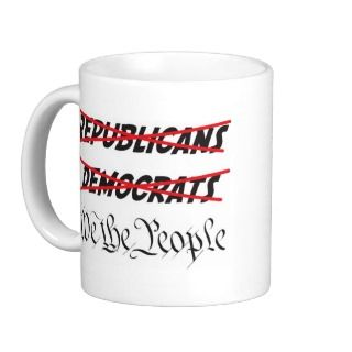 We The People Tea Party Coffee Mug
