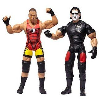 Sting vs. Rob Van Dam Figuren Set TNA Impact Wrestling