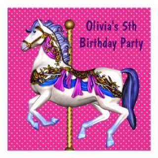 December Morning Designs Invitation Central Girl Birthday