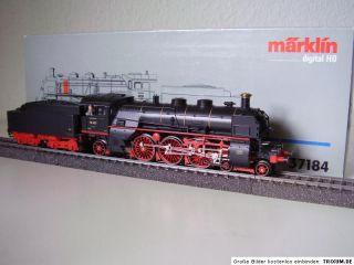Dampflok mit Tender Rheingold BR 18 427 der DR digital OVP