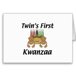 Cards, Note Cards and African American Twins Greeting Card Templates
