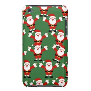 Christmas Santa Wallpaper Barely There iPod Cases