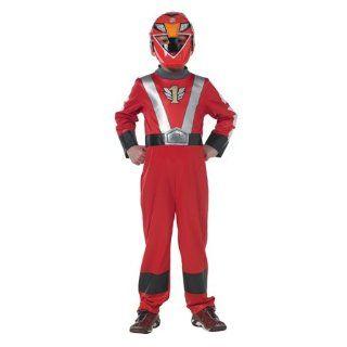 Power Rangers RPM flache Brust roten Kostüm Alter von 5 6 Jahren