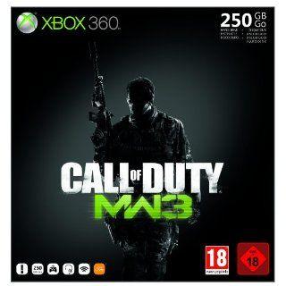 Xbox 360   Konsole Slim 250 GB inkl. Call of Duty MW3, schwarz matt