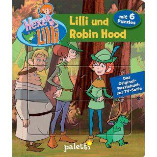 Hexe Lilli Puzzlebuch  Lilli und Robin Hood Paletti