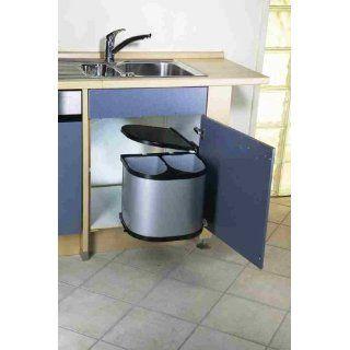 Leifheit Einbauabfallsammler Hausrein INSIDE   2 x 12 Liter Plus