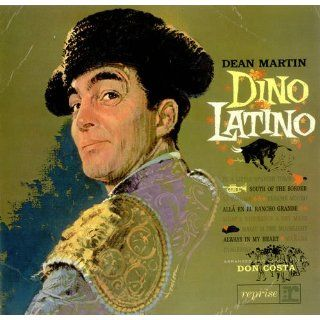 Dean Martin Dino Latino 1962 UK vinyl LP R 6054 Musik