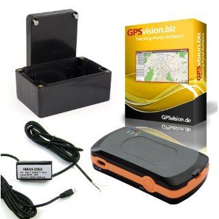 Komplettpaket GPS Tracker + Online Tracking Portal +