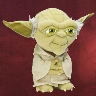 Star Wars Yoda Plüschfigur 23cm hoch Jedi Meister Yoda lizenziert Sci
