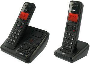 AEG Eole 1425 Duo Schnurloses Eco Logic Telefon mit zusätzlichem
