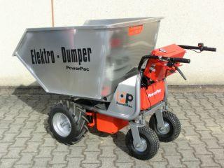 Multi Dumper elektro Typ MCE100 450L mit Wanne 450 ltr.