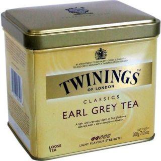 Twinings loser Tee Earl Grey Tea 200g (Metaldose)