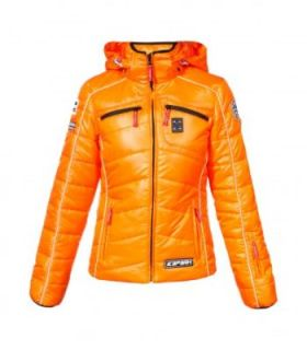 Mena Damen Skijacke Winterjacke Gr. 44   653103563 445 orange   12/13
