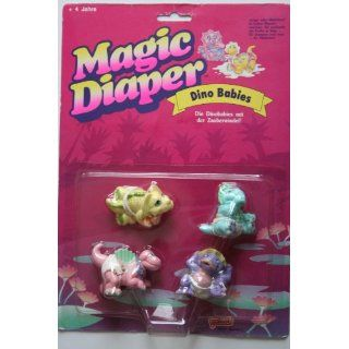 Magic Diaper 4 Dino Babies mit Zauberwindel Spielzeug