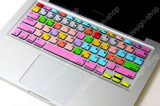 Final Cut Shortcuts MacBook Pro [UK Keyboard] Decal Keys Sticker Skins