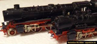 Spur N Fleischmann Dampfloks (012 und 038)   reparaturbedürftig