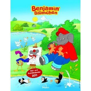 Benjamin Blümchen Mal  und Bastelkalender 2011 Bücher