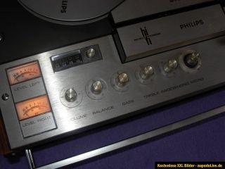 Philips Stereo 4 Track 4407 Bandmaschine Tonbandgerät für Bastler