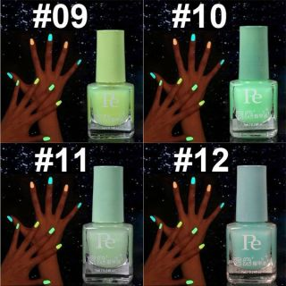 1PC 7ml Fluorescent Neon Nail Art Polish Glow In Dark Lacquer Varnish