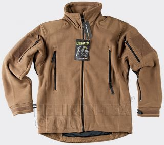 Helikon tex mens new army polyester Liberty fleece,coyote/khaki fleece