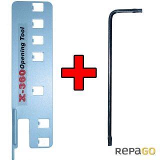 XBOX 360 Unlock Kit Werkzeug Öffner Tool Set inkl T10 T8