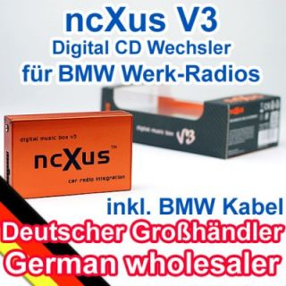 DMC USB Adapter AUX  Wechsler BMW E46 E39 E38 Mini