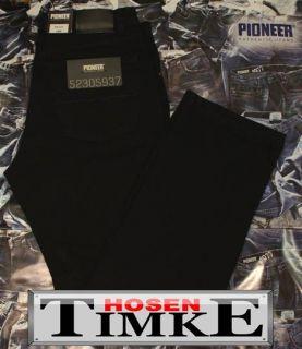PIONEER Jeans RANDO 1680 STRETCH black W30 W36 schwarz