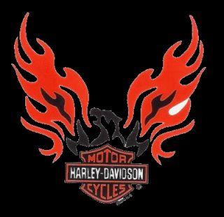 Harley Davidson Aufkleber Adler mit Bar + Shield 6x6cm Phoenix Eagle