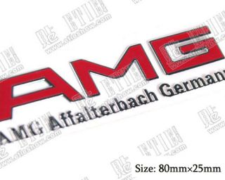 D4751 AMG Auto aufkleber Emblem Benz aus dünne Nickel Top car sticker