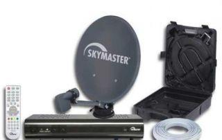 Camping Sat Anlage HDTV Sat Receiver mit USB PVR Ready