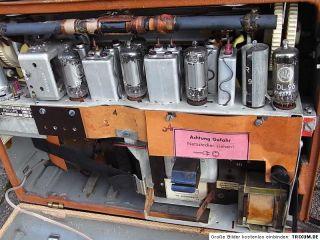 Philips Annette LD 471AB Röhren Transistor Koffer Radio