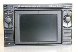 VW SAT NAV MFD CD RADIO NAVIGATION SYSTEM Navi GPS DX Golf Passat Ford