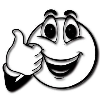 Thump up Smiley** fürs Notebook/Laptop Aufkleber Design Motiv