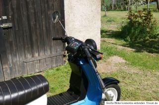 DDR IFA SIMSON SR50 OLDTIMER BLAU FAHRBEREIT MOTOR Roller ZYLINDER no